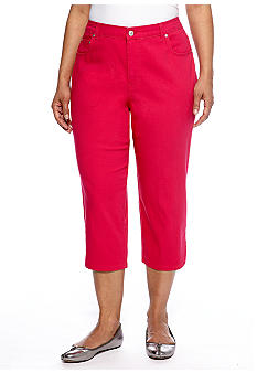 Kim Rogers Plus Size Color Capri
