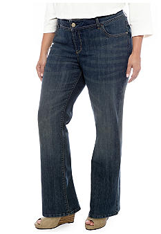 Lee&reg Platinum Plus Size Perfect Fit Emma Bootcut Jean