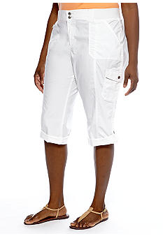 Lee&reg Platinum Plus Size Astoria Platinum Naturally Slimming Capri