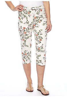 Lee&reg Platinum Norma Classic Fit Uncuffed Capri