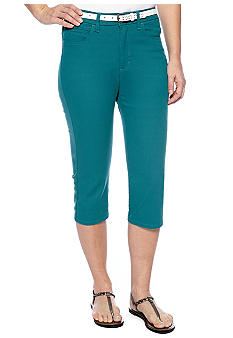 Lee&reg Platinum Norma Classic Fit Rolled Cuffed Capri