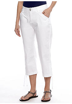 Lee&reg Platinum Hattie Ruched Side Capri