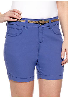 Lee&reg Platinum Naturally Slimming Nixie Belted Walkshort