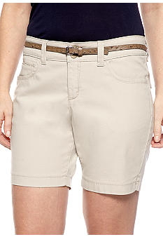 Lee&reg Platinum Naturally Slimming Nixie Belted Walk-Short