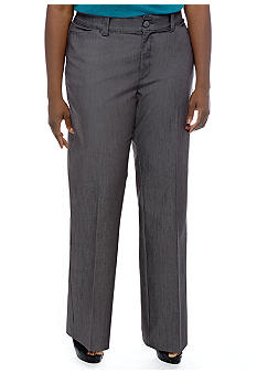 Lee&reg Platinum Plus Size Monoco Trouser in Carbon Rinse (Petite Length)