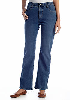 Lee&reg Platinum Petite Perfect Fit Nellie Barely Bootcut Jean