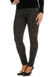 Lee&reg Platinum Petite Floral Print Easy Fit Jada Leggings