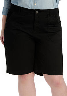 Lee&reg Platinum Plus Size Shiloh Knitwaist Bermuda Short