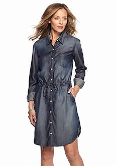 Lee&reg Platinum Button Front Jean Dress