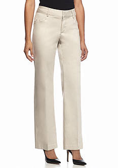 Lee&reg Platinum Petite Mid Rise Madelyn No Gap Trouser