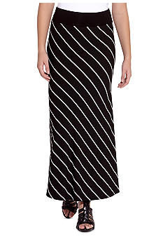 Karen Kane Electric Tide Contrast Maxi Skirt