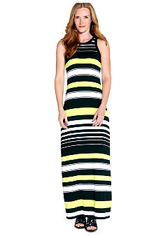 Karen Kane Electric Tide Maxi Tank Dress