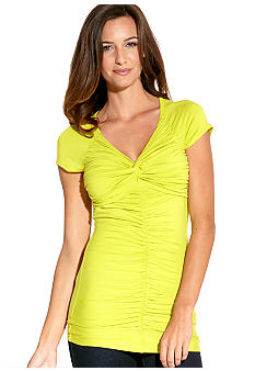 Karen Kane Electric Tide Twist Top