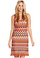 Karen Kane Coral Reef Crochet Tank Dress