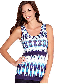 Karen Kane Electric Tide Printed Tank Top