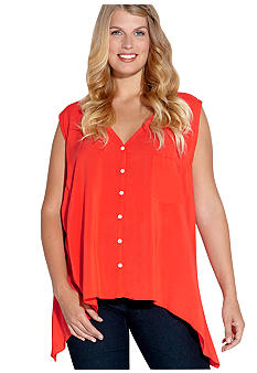 Karen Kane Plus Size Sleeveless Top
