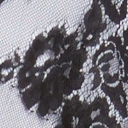 Sleeveless Shirts For Women: Black Karen Kane Lace Asymmetrical Tank