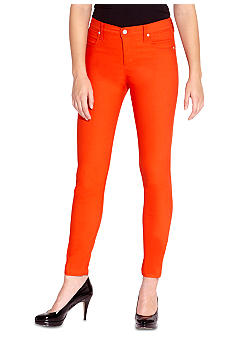 Karen Kane Coral Reef Stretch Twill Colored Capri