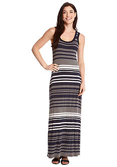 Karen Kane Contrast Maxi Dress