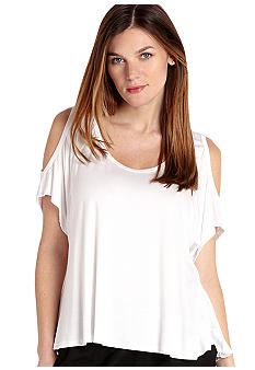 Karen Kane Cross Creek Cold Shoulder Top
