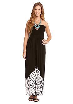 Karen Kane Sahara Smocked Maxi Dress
