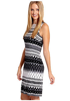 Karen Kane Cross Creek Exposed Zipper Dress