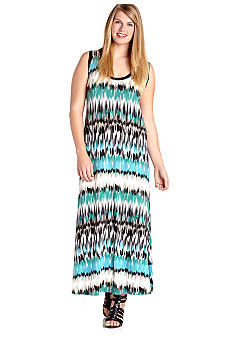 Karen Kane Plus Size Pacific Maxi Dress