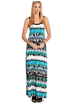 Karen Kane Cross Creek Printed Maxi Dress