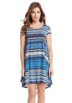 Karen Kane Printed Mesa Maggie Dress