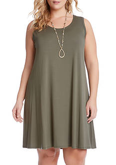 Karen Kane Plus Size Maggie Trapeze Dress