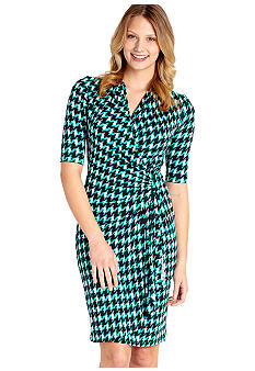Karen Kane Cross Creek Cascade Wrap Dress