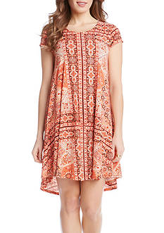 Karen Kane Sagebrush Maggie Trapeze Dress