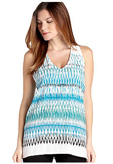 Karen Kane Cross Creek Zig Zag Print Tank Top