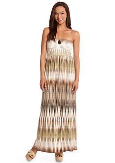 Karen Kane Marrakech Ikat Maxi Dress