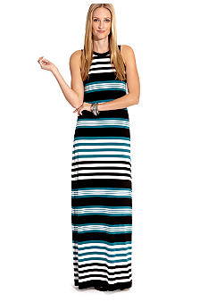 Karen Kane Cross Creek Malibu Pier Stripe Maxi Dress