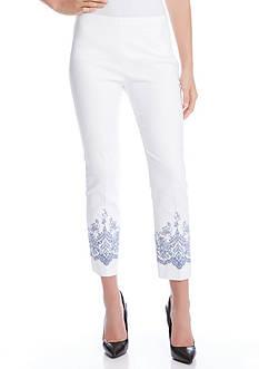 Karen Kane Lace Print Pants