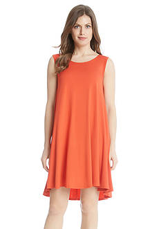 Karen Kane Solid Sleeveless Maggie Trapeze Dress