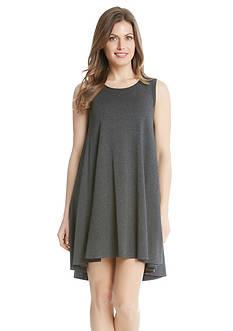 Karen Kane Solid Sleeveless Maggie Trapeze Dress
