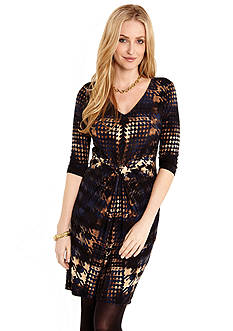 Karen Kane Houndstooth Tiffany Dress