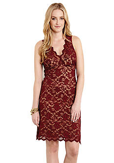 Karen Kane Sleeveless Lace Dress