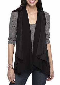 Karen Kane Double Layer Vest