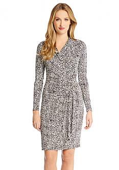 Karen Kane Print Wrap Dress