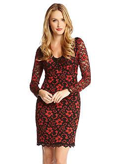 Karen Kane Scallop Lace Dress