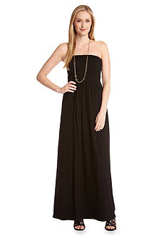 Karen Kane Las Palmas Smocked Maxi Dress