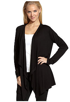 Karen Kane Plus Size Drape Neck Jacket
