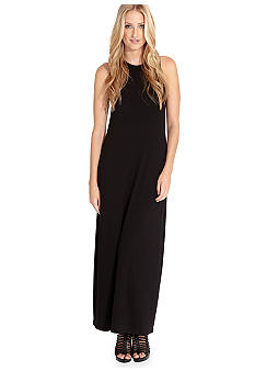 Karen Kane Indigo Bay High Neck Maxi Dress