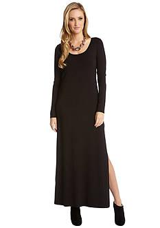 Karen Kane Long Sleeve Maxi Dress