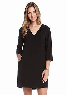 Karen Kane V-Neck Shift Dress