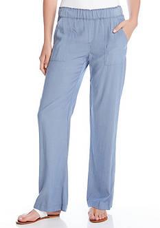 Karen Kane Chambray Cargo Pants