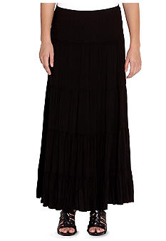 Karen Kane Plus Size Tiered Skirt